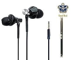 Royal Rusi Ubon High Quality Big Bass Dual Speaker Earphones and Stylu PenFor Lenovo A6000