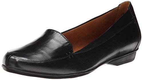 Naturalizer Women's Saban Slip-On Loafer, Black, 9 M US