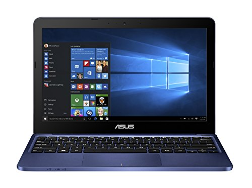 "Asus E200HA-FD0004TS Portatile, 11.6"", Intel Atom x5 Z8300, 2 GB RAM, 32 GB eMMC, Intel HD, Windows 10 Home, Blu [Germania]"