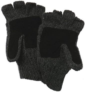 Klondike Sterling Wool Thinsulate Fleece Lined Glomit Fingerless Half Gloves iPhone