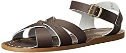 Salt Water Sandals by Hoy Shoe Original Sandal (Toddler/Little Kid/Big Kid/Women\'s),Brown,2 M US Little Kid