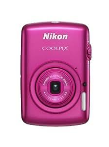 Nikon COOLPIX S01 10.1 MP Digital Camera with 3x Zoom NIKKOR Glass Lens (Pink) (Old Model)