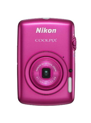 Nikon COOLPIX S01 10.1 MP Digital Camera with 3x Zoom NIKKOR Glass Lens (Pink)