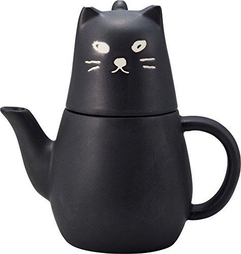 Black Cat Tea For One Set