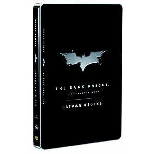 Batman Begins + The Dark Knight [Édition Limitée boîtier SteelBook]