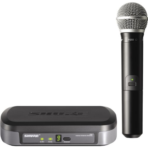 Shure PG24/PG58 Wireless Vocal System, H7