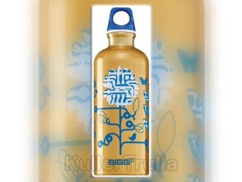 Sigg .6 Litre Aluminum Bottle (Techno Blossom) front-970568
