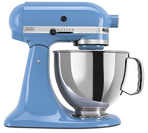 KitchenAid 4.5 Quart Tilt Head Stand Mixer, Cornflower Blue Color (Color Kitchen Aid Mixer compare prices)