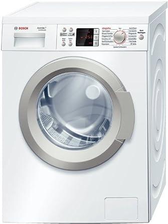 Bosch WAQ284A1 Waschmaschine Frontlader Avantixx 7 / A+++ / 1400 UpM / 7 kg / 1.05 kWh / Weiß / VarioPerfect / AquaStop / AntiVibration Design