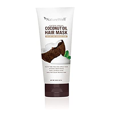 Nature Well Extra Virgin Coconut Oil Hair Mask (8 fl. oz.)