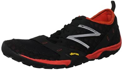 New Balance Men's MT10 Minimus Trail Running Shoe,Black/Red,9 D US