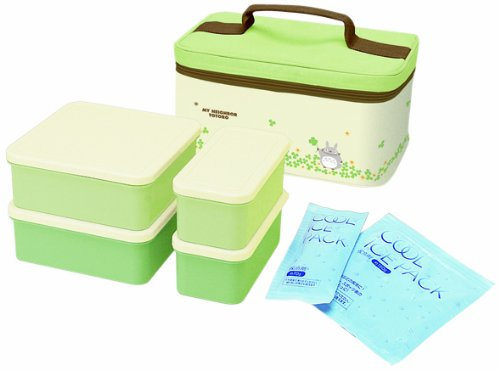 Bento: Studio Ghibli Totoro Design Food Container Lunch Boxes Set