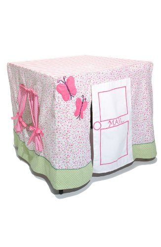 Table Fables Fabric Play House (Pink Play House)