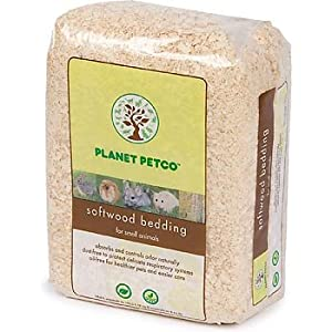 Planet petco softwood bedding for small for Does petco sell fish