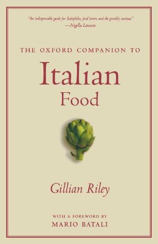 The Oxford Companion to Italian Food (Oxford Companions)