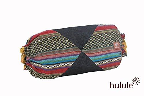 <ベビーキャリア収納バッグ> ー抱っこ紐のエルゴが7秒で小さくまとまるーメキシカンパッチワーク(ピンクブラック)
