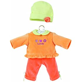 Corolle Classic Baby Doll 14-inch Fashion Apricot Set