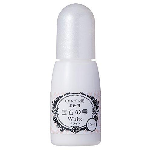 レジン着色剤 パジコ 宝石の雫 ホワイト 10ml 403045