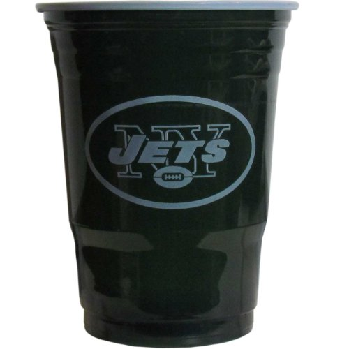 New York Jets Official NFL Game Day Cups by Siskiyou 287480 FGDC100