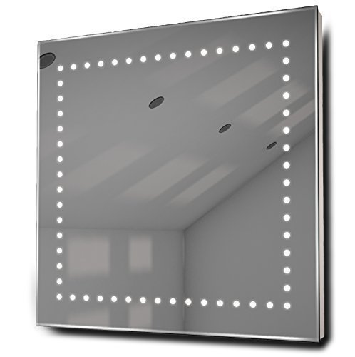 Box Ultra-Slim Led Bathroom Illuminated Mirror With Demister Pad & Sensor K9