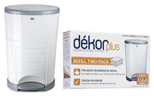 Dekor diaper plus diaper disposal system 11street for Dekor plus diaper pail