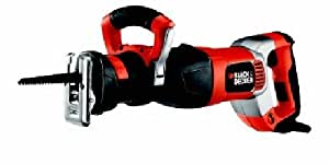 Black & Decker RS1050EK 240 Volts 1050 Watts Variable Speed Reciprocating Sabre Saw with KitBox