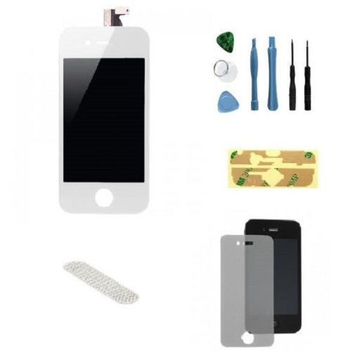 Generic Apple Iphone 4 Verizon Cdma White Lcd Touch Screen + Digitizer + Front Glass Assembly