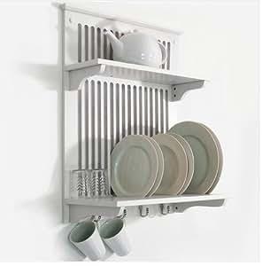Foxhunter scaffale da cucina per stoviglie dotato di - Scaffale per cucina ...