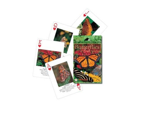Impact Photographics IMP193PLY Playing Cards Butterflies