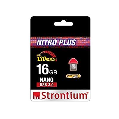 Strontium Nitro Plus Nano 16GB USB 3.0 Pen Drive (Red)