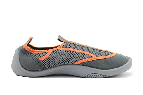 Tosbuy Mesh Slip on Water Shoes for Man(eu41,orange)