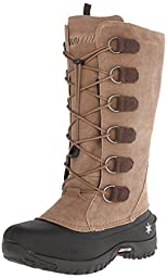 Baffin Women\'s Coco Insulated Suede Winter Boot,Taupe,9 M US