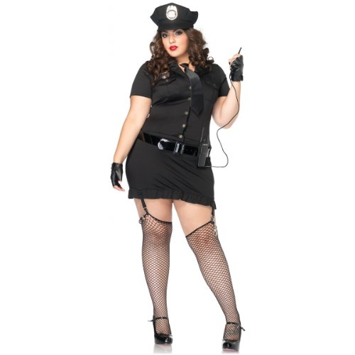 Dirty Cop Costume - Plus Size 1X/2X - Dress Size 16-20