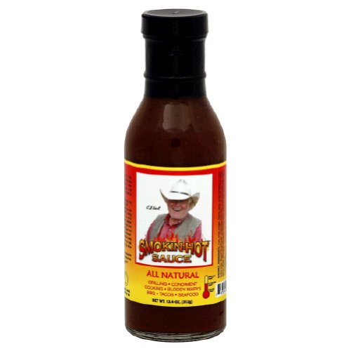 Branding Iron, Sauce Bbq Smokin Extra Hot, 13.4 OZ (Pack of 6)