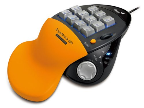 Genius Ergomedia 500 11-Key Usb Gaming Keypad