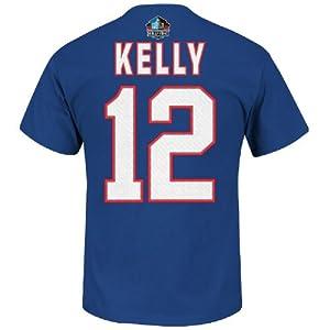 Jim kelly buffalo bills 12 big man hall of for Buffalo bills t shirt jersey