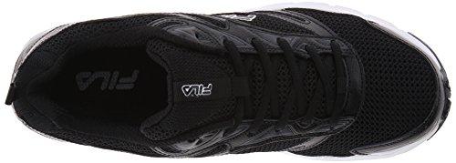 Fila Men's Royalty-M Running Shoe, Black/Castlerock/White, 11.5 M US
