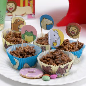 Dear Zoo Cupcake Cases and Picks