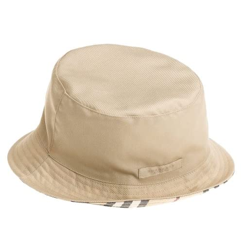 Amazon.com: Burberry Women's Reversible Bucket Hat, Taupe, X-Small