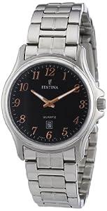 Festina Damen-Armbanduhr XS Klassik Analog Edelstahl F16474/6