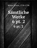 Sämtliche Werke: 6 pt. 2