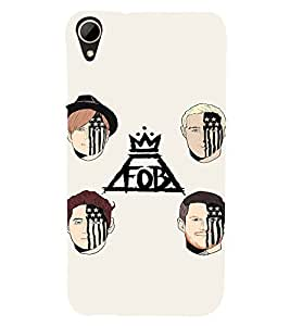 EPICCASE FOB Mobile Back Case Cover For HTC Desire 828 (Designer Case)