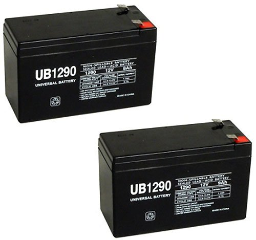 Schwinn S500 12V 9Ah Upg Sla Battery - 2 Pack