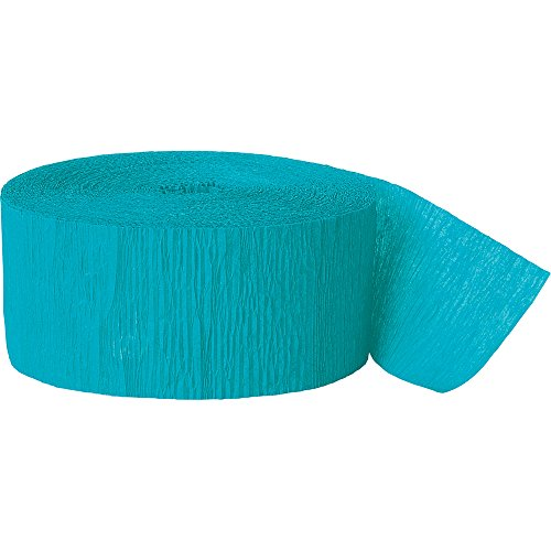 Crepe Paper Streamers, 81 Feet, Teal (Streamer Teal compare prices)
