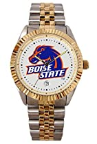 Boise State University Broncos Mens Executive Stainless Steel Watch