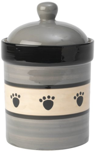 PetRageous Metro Treat Jar for Pets, 9-Inch