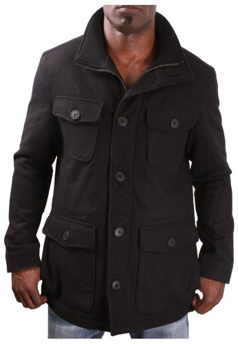 Kenneth Cole New York Men's Wool Peacoat Coat Jacket Size M