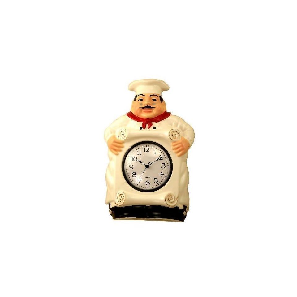 Fat Chef Kitchen Decor   Fat Chef Wall Clocks