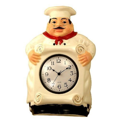 Stunning Fat Chef Kitchen Clock 500 x 500 · 31 kB · jpeg
