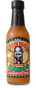The Cheech Mojo Mango Habanero Hot Sauce 5 Oz